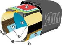 Грузовые шины для полуприцепов — резина, типы, конструкция, маркировка.