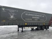 Шторно-бортовой полуприцеп Krone 2017