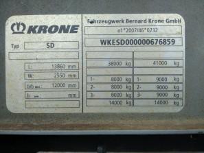 Шторные Krone 2015г. в. 76859вин