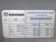Шторный полуприцеп Krone 2015