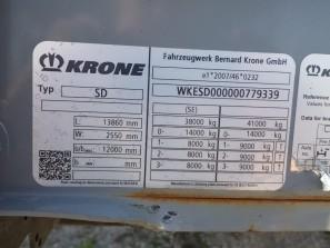 Шторные Krone 2017г. в. 79339вин