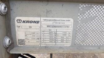 Шторные Krone 2017г. в. 73797вин
