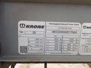 Шторные Krone 2017г. в. 79360вин