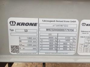 Шторные Krone 2017г. в. 79356вин