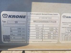 Шторные Krone 2014г. в. 79328вин