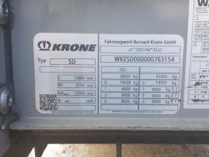 Шторные Krone 2017г. в. 63154вин