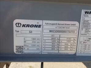 Шторные Krone 2017г. в. 73773вин