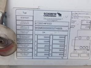 Шторные Schmitz 2017г. в. 74909вин
