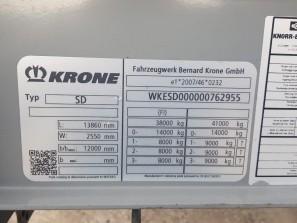 Шторные Krone 2017г. в. 62955вин