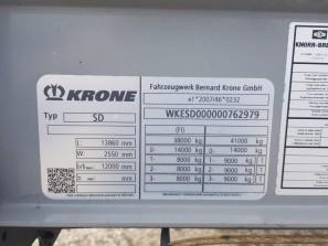 Шторные Krone 2017г. в. 62979вин