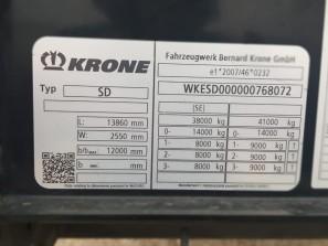 Шторные Krone 2017г. в. 68072вин