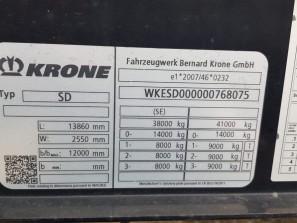 Шторные Krone 2017г. в. 68075вин