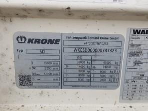 Шторные Krone 2017г. в. 47323вин