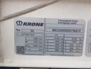Шторные Krone 2017г. в. 96870вин