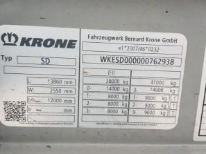 Шторные Krone 2017г. в. 62938вин