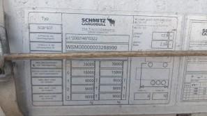Шторный полуприцеп Schmitz 2017