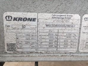 Шторные Krone 2017г. в. 86567вин