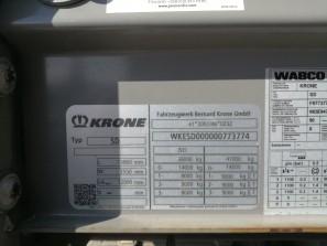 Шторные Krone 2017г. в. 73774вин