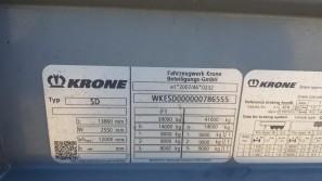 Шторные Krone 2017г. в. 86555вин