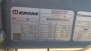 Шторные Krone 2017г. в. 86561вин