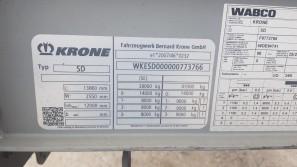 Шторные Krone 2017г. в. 73766вин