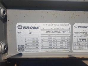 Шторные Krone 2017г. в. 79347вин