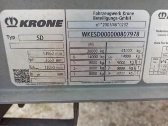 Шторные Krone 2018г. в. 07978вин