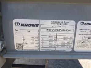 Шторные Krone 2018г. в. 08001вин